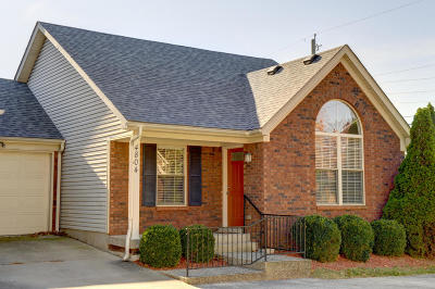 Louisville KY Condo/Townhouse For Sale: $114,900