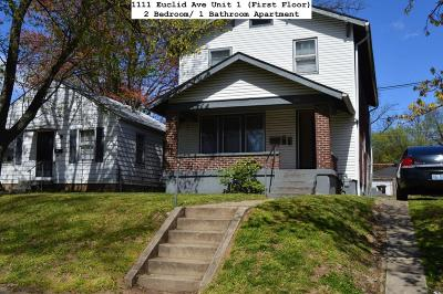 Louisville Rental For Rent: 1111 Euclid Ave #1