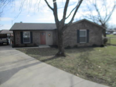Louisville KY Single Family Home For Sale: $149,950