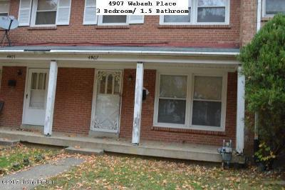 Louisville Rental For Rent: 4907 Wabash Pl