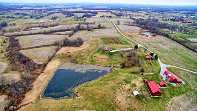 Shelby County Farm For Sale: 5123-2 Buck Creek Rd