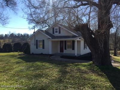 Finchville KY Single Family Home For Sale: $189,900