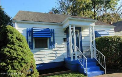 Louisville KY Single Family Home For Sale: $84,200