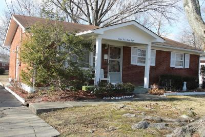Louisville KY Single Family Home For Sale: $125,000