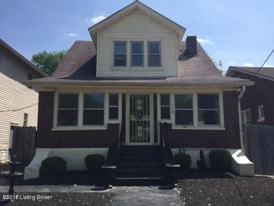 Louisville Single Family Home For Sale: 115 N 38th St