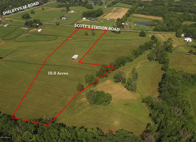 Shelbyville Residential Lots & Land For Sale: 3 Scott Station Rd