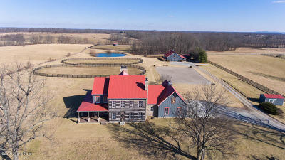 Simpsonville Farm For Sale: 2951 Todds Point Rd