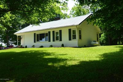 Meade County Single Family Home For Sale: 4635 Fackler Rd