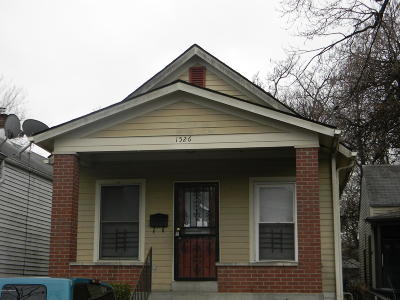 Louisville KY Single Family Home For Sale: $95,000