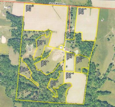 Residential Lots & Land For Sale: 400 Grover Blaydes Rd