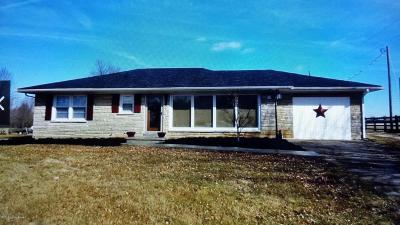 Hodgenville Single Family Home For Sale: 2498 Campbellsville Rd
