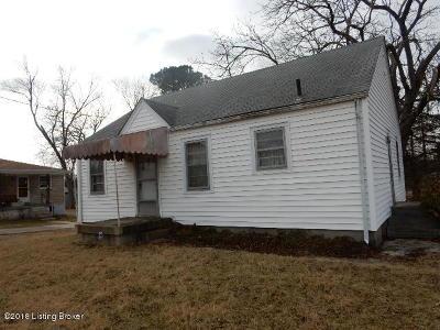 Bullitt County Single Family Home For Sale: 1467 Old Preston Hwy N