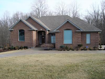 Elizabethtown Single Family Home For Sale: 2527 Ridgestone Dr