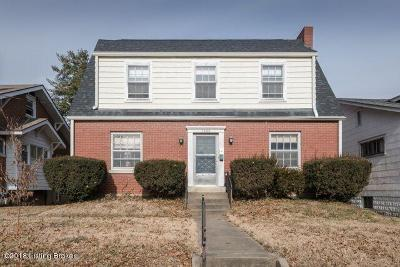Highlands Single Family Home Active Under Contract: 1603 Bonnycastle Ave