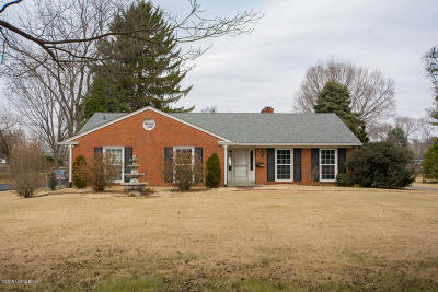 Louisville Single Family Home For Sale: 4207 Browns Ln
