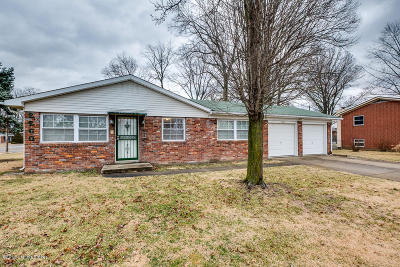 Clarksville Single Family Home For Sale: 2260 Larch Dr