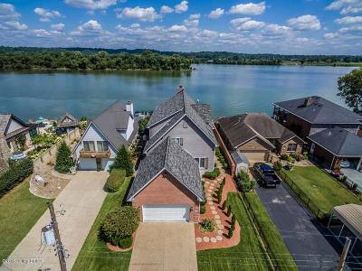 Jeffersonville Single Family Home For Sale: 6702 Longview Beach Dr