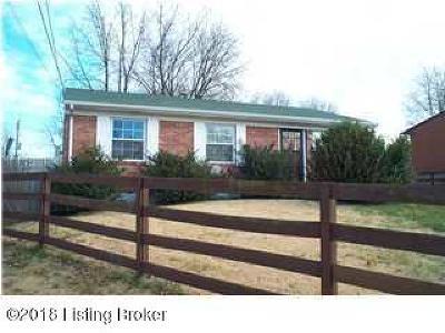 Bullitt County Single Family Home Active Under Contract: 308 Winston Ct