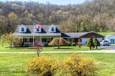 Single Family Home For Sale: 319 W Prong Locust Rd