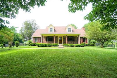 Shelbyville KY Single Family Home For Sale: $460,000