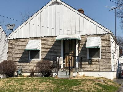 Louisville KY Single Family Home For Sale: $55,000