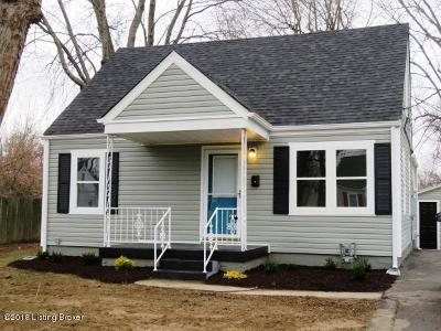 Louisville KY Single Family Home For Sale: $112,000