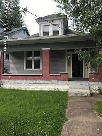 Louisville KY Single Family Home Active Under Contract: $15,000