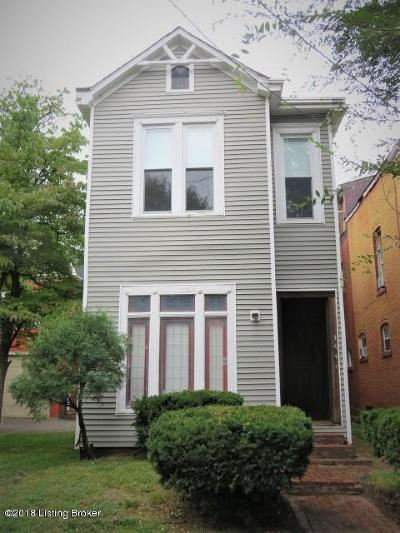 Old Louisville Single Family Home For Sale: 1444 S 6th St