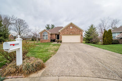 Jeffersontown Single Family Home For Sale: 10100 John Ashley Ct