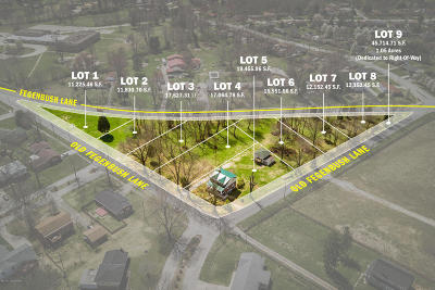 Louisville Residential Lots & Land For Sale: 6902 Old Fegenbush Ln