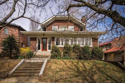 Louisville Single Family Home For Sale: 2191 Baringer Ave