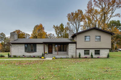 Louisville Single Family Home For Sale: 12125 Lower River Rd