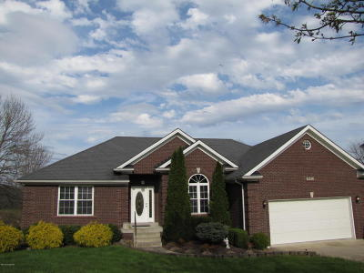 Bullitt County Single Family Home For Sale: 631 Cliffside Dr