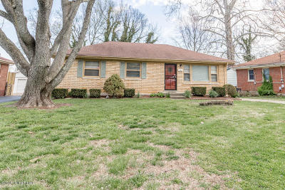 Louisville Single Family Home For Sale: 4635 Lor Ann Ave
