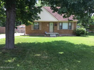 Single Family Home For Sale: 8514 Shirley Ln