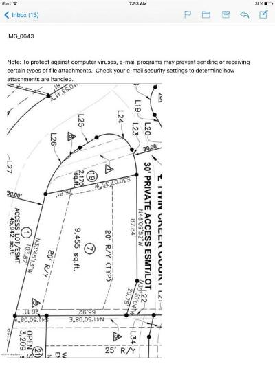 Louisville Residential Lots & Land For Sale: 3002 Twin Creek Dr