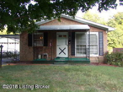 Louisville KY Single Family Home For Sale: $110,000