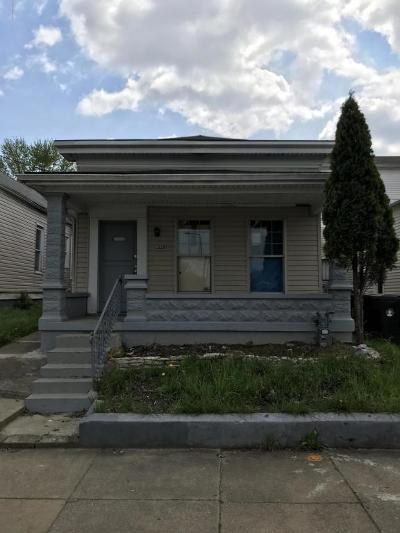 Louisville KY Single Family Home For Sale: $8,000