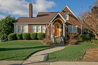 Louisville Single Family Home For Sale: 524 Oxford Pl