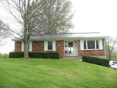 Shelby County Single Family Home For Sale: 6420 Bagdad Rd