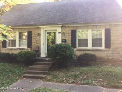 Louisville Rental For Rent: 233 Fairfax Ave
