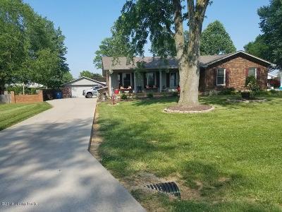 Shepherdsville Single Family Home For Sale: 318 Centerview Dr