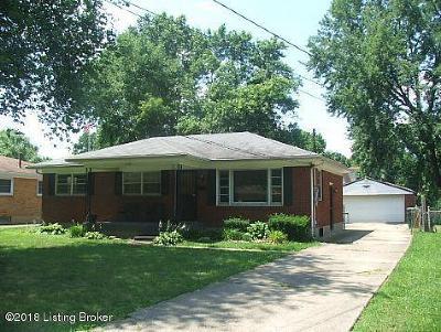 Louisville Rental For Rent: 2510 Coronet Dr
