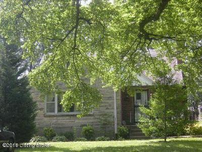 Louisville Rental For Rent: 5713 W Southland Blvd