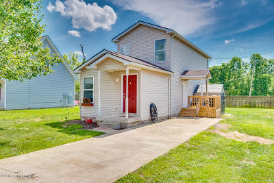 Shepherdsville Single Family Home For Sale: 183 Haley Ave