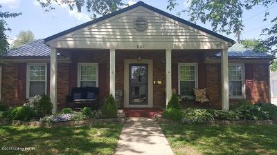 Carroll County Single Family Home For Sale: 807 Sycamore St