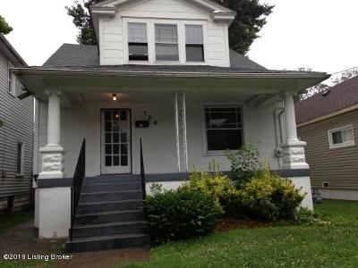 Louisville Single Family Home For Sale: 726 M St