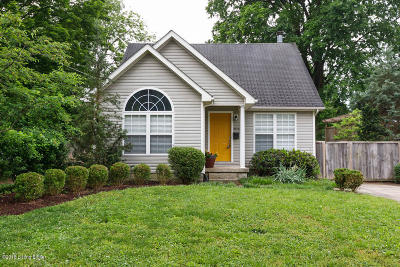 Louisville Single Family Home For Sale: 2712 Fayette Ave