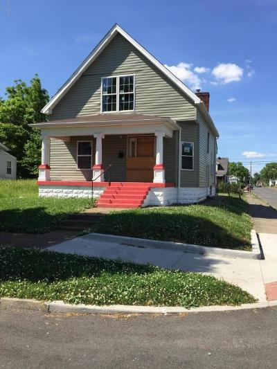 Louisville KY Single Family Home For Sale: $27,500