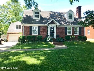 Louisville Single Family Home For Sale: 3611 Norbourne Blvd